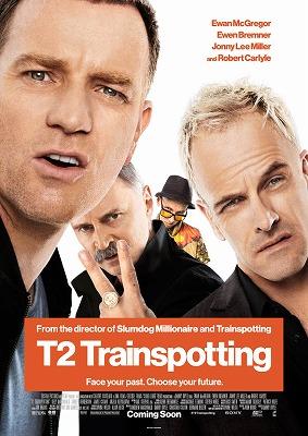 『T2 トレインスポッティング』初日プレゼントのインターナショナル版ポストカード