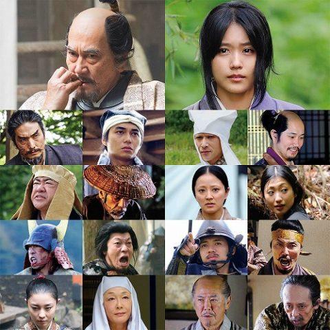 『関ヶ原』オールスターキャストの劇中写真